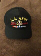 Us Army Korea Veteran 1950-53 Patched , Adjutable Hat ,New without Tag