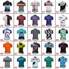 Мужские уникальный велосипед Велоспорт коротким рукавом Джерси велосипед топы maillots рубашка фуфайки