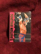 BRITISH BULLDOG 1995 Action Packed WWF Card #11 WWE Wrestling Superstar Legend