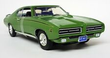 Motormax 1/18 Scale - 73133 Pontiac GTO Judge 1969 Green Diecast model car