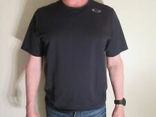 NEW Oakley Motion SS Short Sleeve Athletic Shirt Medium Large Black $40.00