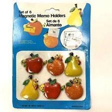 French Apple Fruit Pie FRIDGE MAGNET wrapper