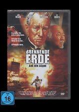 DVD BRENNENDE ERDE - AUS DER ASCHE - MAX VON SYDOW + PAT MORITA (Karate Kid) NEU
