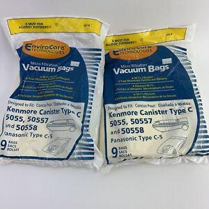 13 Kenmore Vacuum Cleaner Bags 5055 50557 50558 C Panasonic Type C-5 Canister