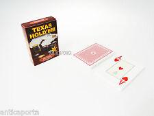 Dal Negro 21019 - Texas Hold'em Astuccio Rosso carte da Gioco Giocattolo (iqu)