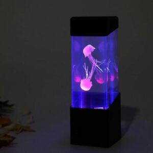 7-Color Changing LED Jellyfish Lamp Aquarium Bedside Night Atmosphere Mood L'JN