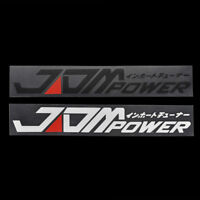 JDM POWER Car Styling Sticker Bumper Decal Safety Reflective Warning Stickers