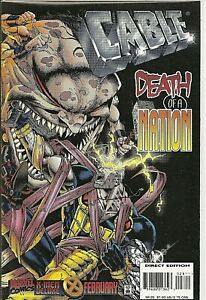 °CABLE #28 THICK...THICK...THICK SINISTER vs SUGARMAN° US Marvel 1996 Jeph Loeb