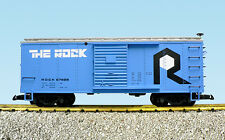 "USA Trains G Scale R19108 Rock Island ""ROCK"" Box Car CHOICE #'s NEW RELEASE"