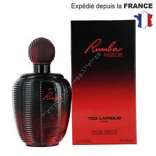 Parfum RUMBA PASSION de Ted Lapidus Eau de Toilette 100ml Vaporisateur Spray !