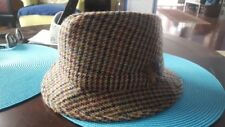 Vintage Jonathan Richard Men's Hat (Sz 7 1/4  59) Wool Tweed Original Irish