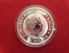 2017 Silver Kookaburra 1 Oz .999 Fine One Dollar BU