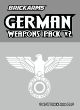 BrickArms German Weapons Pack V2 - Fits LEGO Minifigures