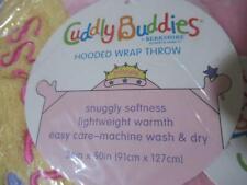 Berkshire Cuddly Buddies Hooded Wrap Throw Diva Princess 36 x 50