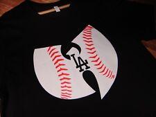 LA DODGERS WUTANG CLAN mens XL T-Shirt Classic Hip Hop Method Man