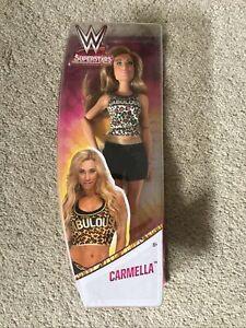 WWE Superstars Carmella Doll Boxed