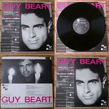 GUY BEART -LP- LES GRANDS PRINCIPES / QUI SUIS-JE ? -TEMPOREL GB 000001-SACEM 73