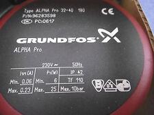 Grundfos ALPHA Pro 32-40 180mm Umwälzpumpe 96283598 NEU OVP