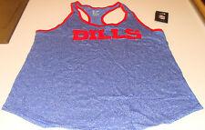 Buffalo Bills Ladies Women Core Fan Marled Tank Top Shirt M Football NFL