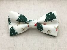 Christmas Bow Tie Xmas Tree bow tie for Kid Baby Adult Bow Ties Adjustable Strap