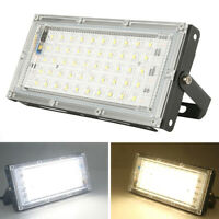 LED Floodlight Outside Wall Light 50W Security Flood Lights IP66 Outdoor Garden