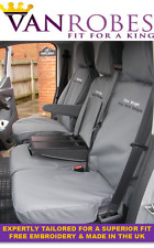 Ford Transit Custom (2013 on). Tailored Seat Covers & Tailored  Rubber Floor Mat