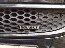 Smart 451 Facelift Brabus Logo Emblem Schriftzug Badge für Kühlergrill NEU OVP
