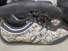 Guess Wgallian Sneakers Tennis Shoes Patent Trim Size 8