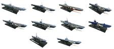 Set of 10 submarines 1:350 - U-BOOT HMS WW2 Atlas military war boat ship
