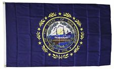 New Hampshire State Flag 3 x 5 Foot Flag - New 3x5 Higher Quality Ultra Knit
