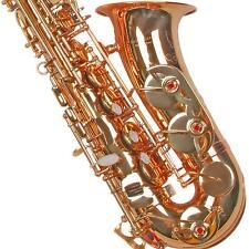 K. Glaser Alt Saxophon, ES Stimmung, mit Koffer, Mundstück + Blättchen, Neuware