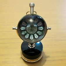 Antique Brass Vintage Table Clock Mechanical Automatic Collectible Item