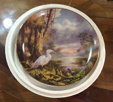 1993 Danbury Mint Tranquil Beauty Plate Everglades National Park Rudi Reichardt