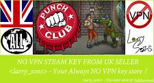 Punch Club Steam key NO VPN Region Free UK Seller