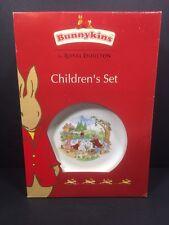 Royal Doulton Bunnykins Childrens Set Plate Bowl Cup