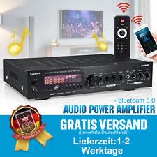 2000W bluetooth 5.0 Verstärker Vollverstärker HiFi Stereo 2 Kanal Digital FM Amp