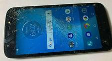 Cricket Moto E5 Cruise Xt1921-2 Andorid 4G Lte Blue Gsm Smart Cell Phone