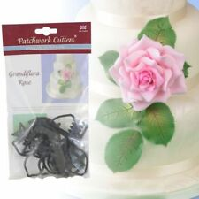 Patchwork Cutters GIALLA GRANDE ROSE SET Sugarcraft