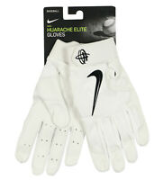 NIKE Huarache Elite Baseball Gloves sz XL X-Large White Black Vapor Pro Batting