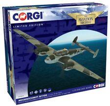 """New Corgi AA38509 1:72nd Scale Messerschmitt Bf110D """"Rudolf Hess"""" Model."""