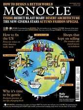Monocle Magazine #137 Oct 2020 NEW! How to Design a Better World! + Autumn Style