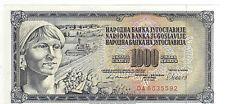 BANCONOTA DA 1000 DINARA BANKA JUGOSLAVIJE 1981   (7)