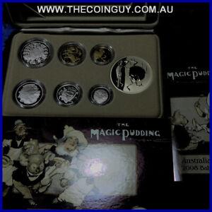 2008 Australian baby proof set The Magic Pudding