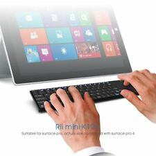 Rii k12+ wireless mini keyboard Ultra Slim with touchpad for HTPC PC Rechargable