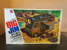 Vintage Big Jim Sports Camper, Box & Accessories