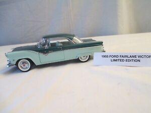 1955 Ford Fairlane Victoria Danbury Mint Limited Edition 50th Annivrsry Tribute