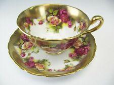 Royal Chelsea Cup & Saucer Golden Rose