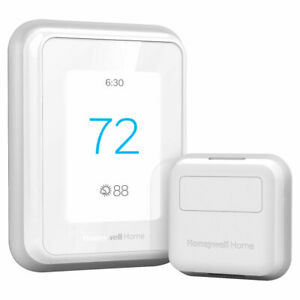 New Honeywell Home T9 Smart Thermostat Smart Room Sensor with C-Wire Adapter
