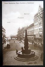 Germany~KONSTANZ a. Bodensee~HOTEL DEUTSCHES HAUS~ RPPC