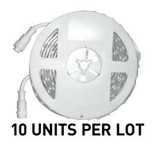 """[LOT OF 10] NEW EuControls RGBW LED Strips, 24V Outdoor, 16'4"""" Reel"""